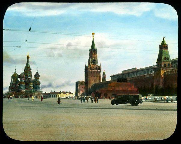 Москва 1931-ого года в цвете