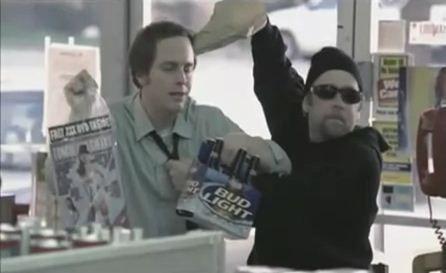 Bud Light - пиво и порно