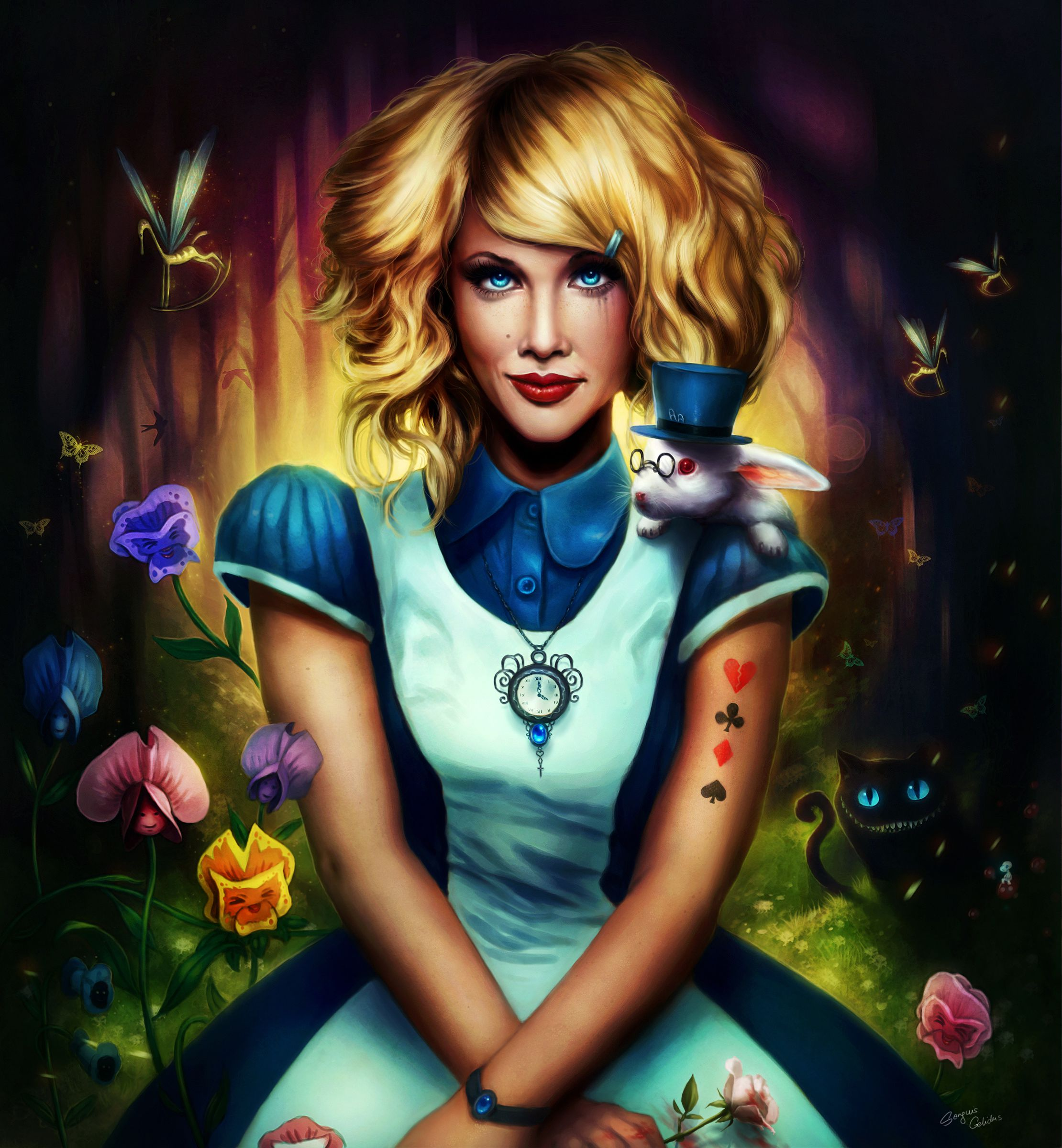 the character of alice in lena