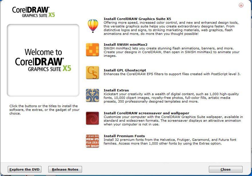 Оригинальное название: CorelDRAW Graphics Suite X5 Год выпуска: 2010 Жанр: