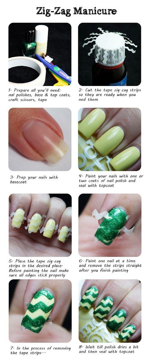 Шпаргалка для ногтей разный маникюр