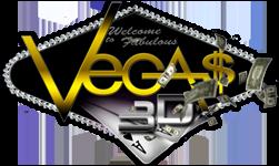 Лас-Вегас в 3Д / Las Vegas 3D Вертикальная анаморфная