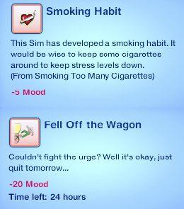 Симс 3 скачать мод на Курение