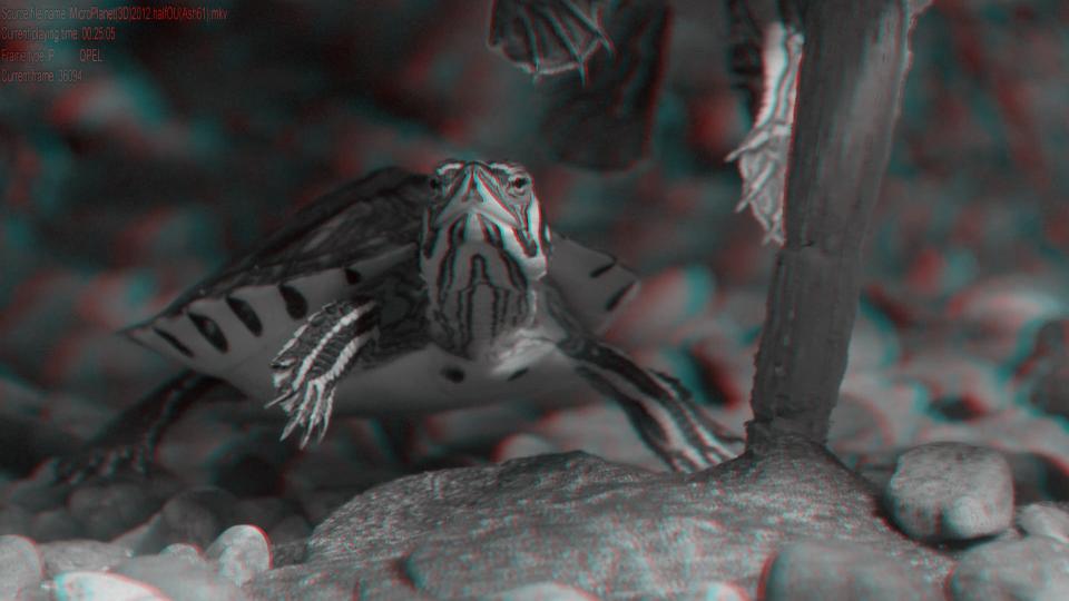 МикроПланета в 3Д / MicroPlanet 3D  ( by Ash61) Вертикальная анаморфная