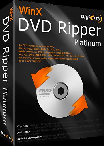 WinX DVD Ripper Platinum v7.3.6.117 Build 10.02.2014 Final