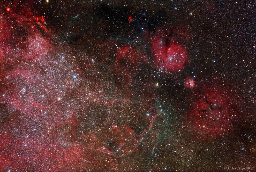 Остатки от вспышек сверхновых звезд