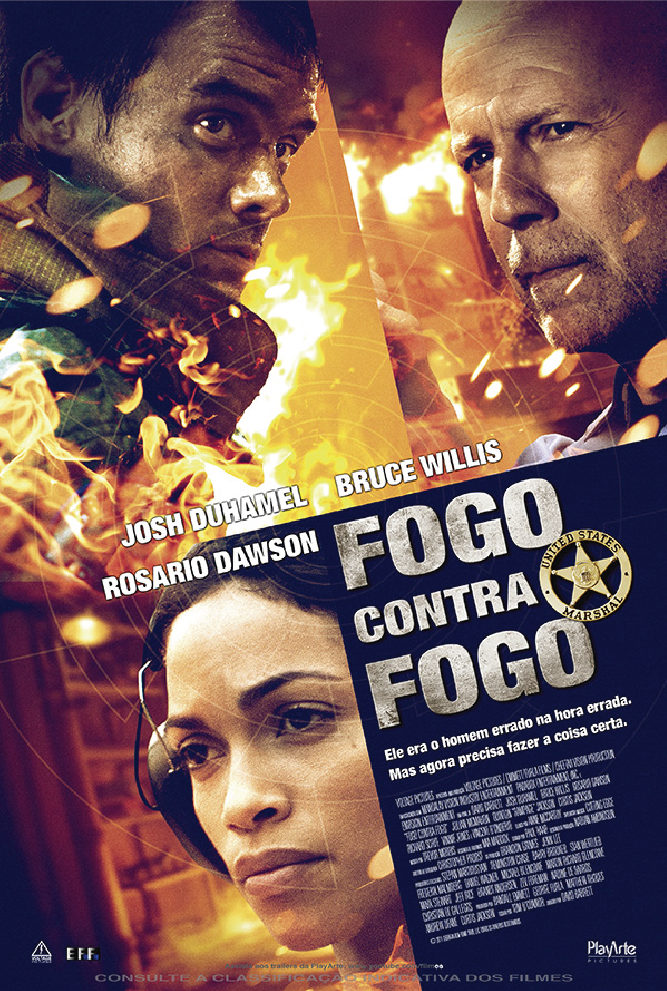 Fogo Contra Fogo (Dual Audio) BDRip XviD