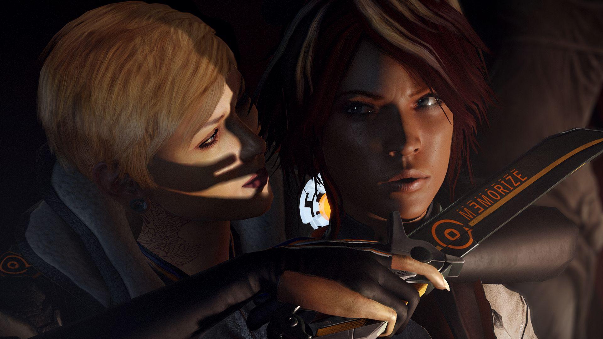 Текущий показываемый скриншот из игры strong em Remember Me/em/strong под.