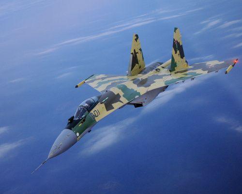 Российский истребитель Су-35 потряс Ле Бурже