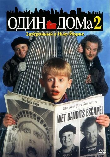 Один дома 2: Затерянный в Нью-Йорке / Home Alone 2: Lost in New York (Крис Коламбус / Chris Columbus) [1992, США, Комедия, BDRemux 1080p] DUB + MVO + 2 x AVO (Михалев, Горчаков) + Original Eng + Sub (Rus, Eng, Dan, Fre, Ger, Nor, Swe) торрент скачать бесп