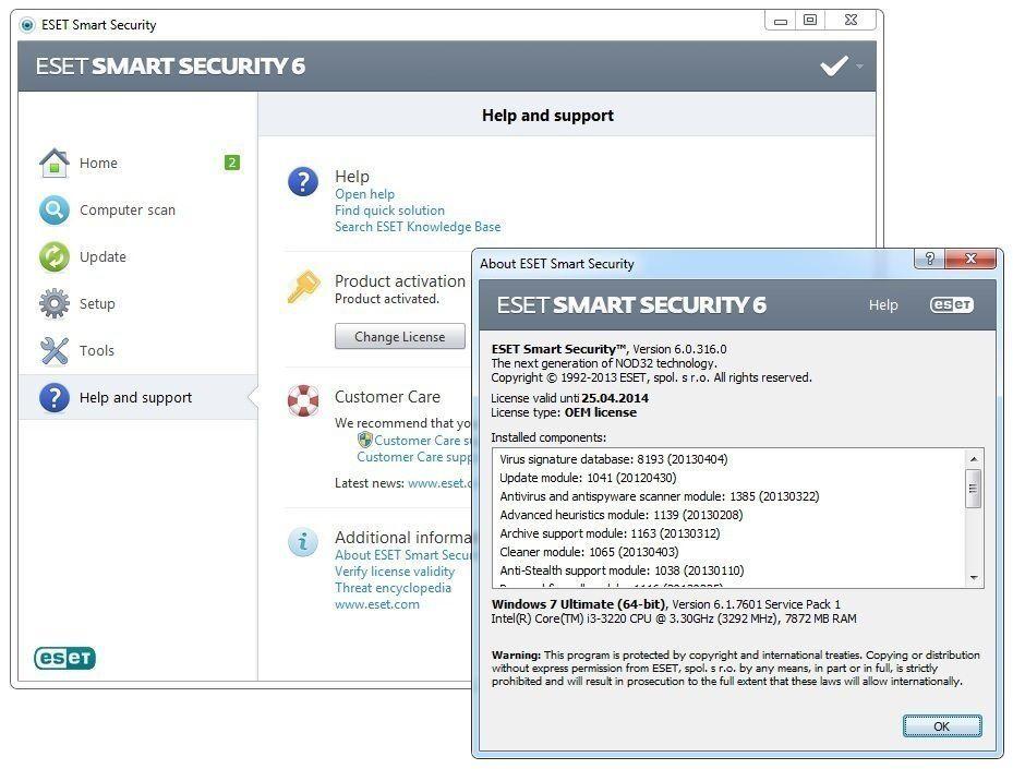 eset nod32 antivirus 6 activation key facebook