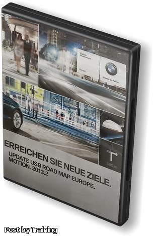 BMW Navigation USB Road Map Europe MOTION CIC 2013.2
