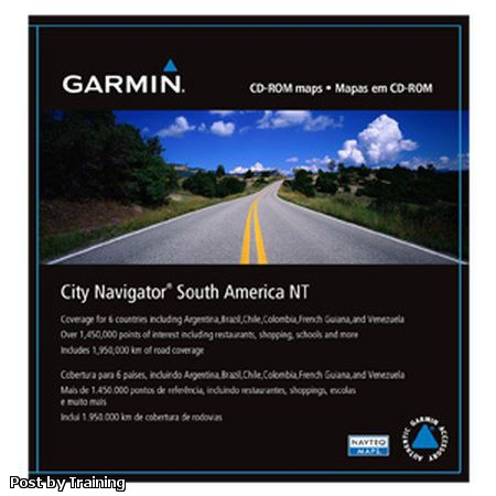 Garmin City Navigator South America NT 2014.20