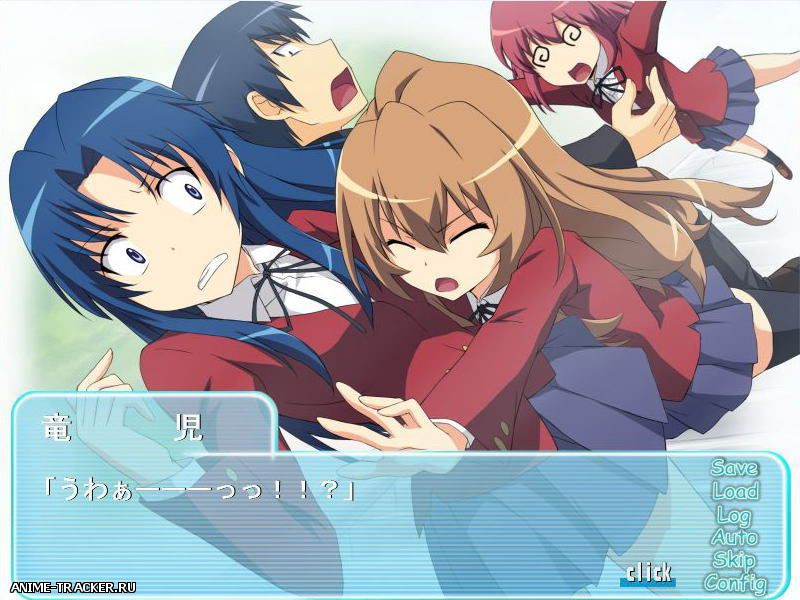 Toradora! / Toransu! / Trance! / Торадора [2009] [Cen] [VN] [JAP] H-Game