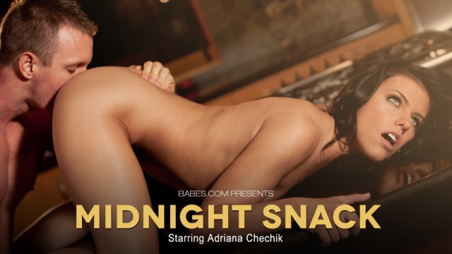[Babes.com] Adriana Chechik - Midnight Snack (2013) [HD 720p]