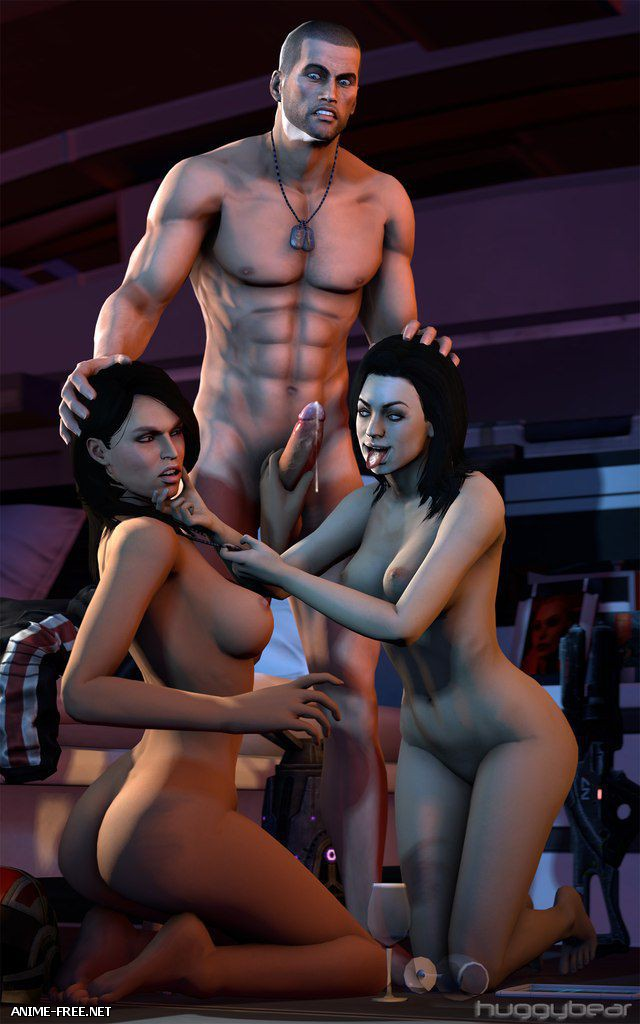 Mass Effect Fan art / Сборник эро-арта по игре Mass Effect [Uncen] [JPG,PNG,GIF] Hentai ART