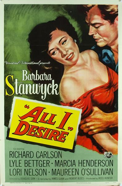 Все, чего я желаю / All I Desire , Всегда есть завтра / Theres Always Tomorrow (Дуглас Серк / Дуглас Серк) [1953, 1956, США, драма, мелодрама, DVD9 (Custom)] [4:3 NTSC R1] Sub Rus (Bums) + VO (minyaev) + Sub Eng + Original Eng скачать через торрент беспла
