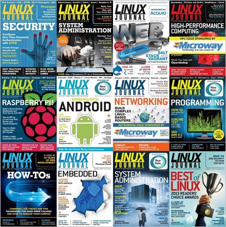Linux Journal - Full Year Collection 2013
