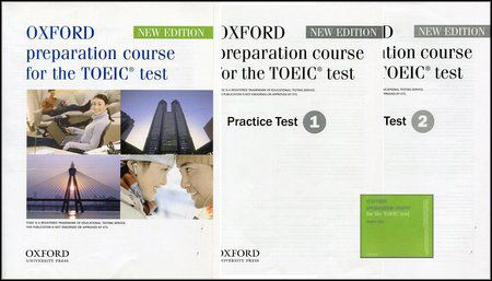 Oxford Preparation Course for the TOEIC, Practice Test 1 and 2 + Audio CDs (MP3 + PDF)