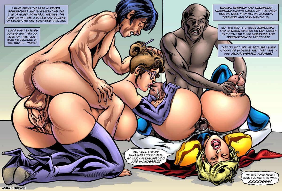 Superheroine Comixxx Collection [Uncen] [ENG] Porn Comics