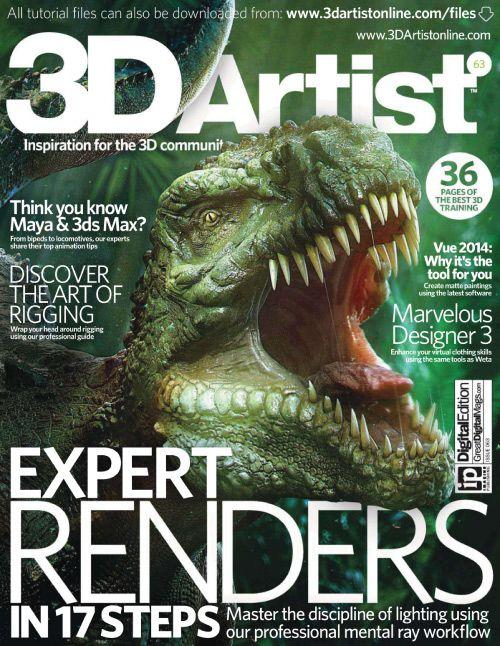 3D Artist - Issue 63, 2014