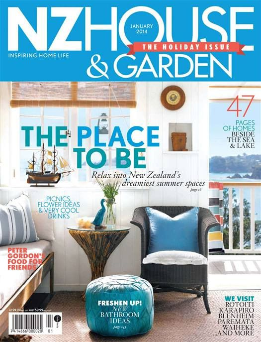 NZ House & Garden - January 2014