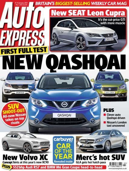 Auto Express - 8 January 2014