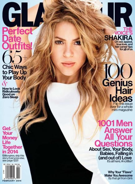 Glamour USA - February 2014 (True PDF)