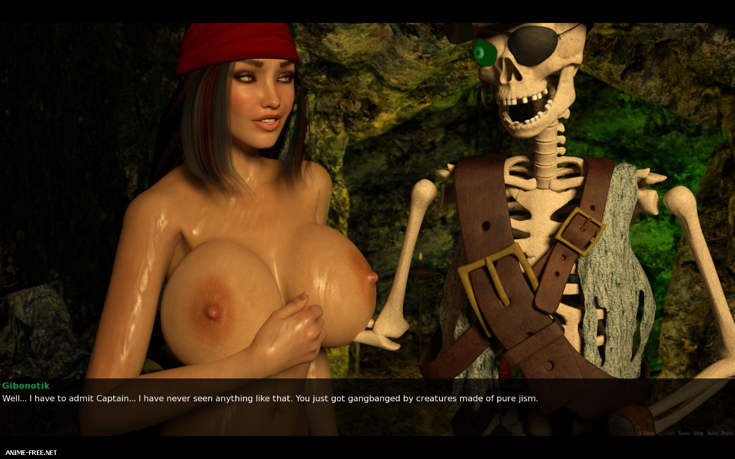 Dead Tide 2: Cum Covered Shores [2013] [Uncen] [3DCG,Animation] [ENG] H-Game