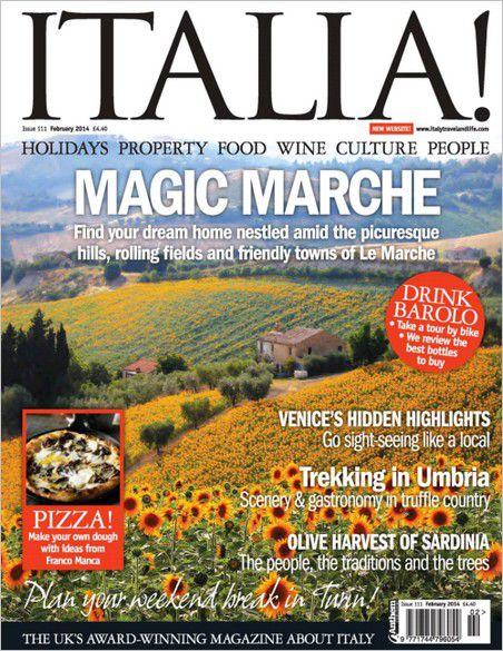 Italia! magazine - February 2014
