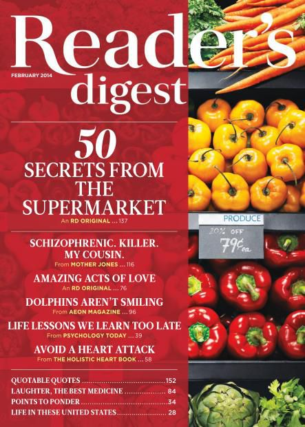Reader's Digest USA - February 2014 (True PDF)