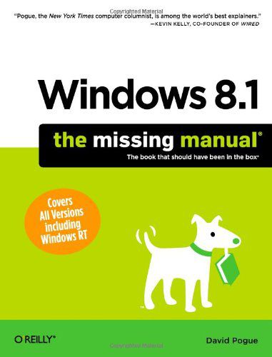 Windows 8.1 The Missing Manual
