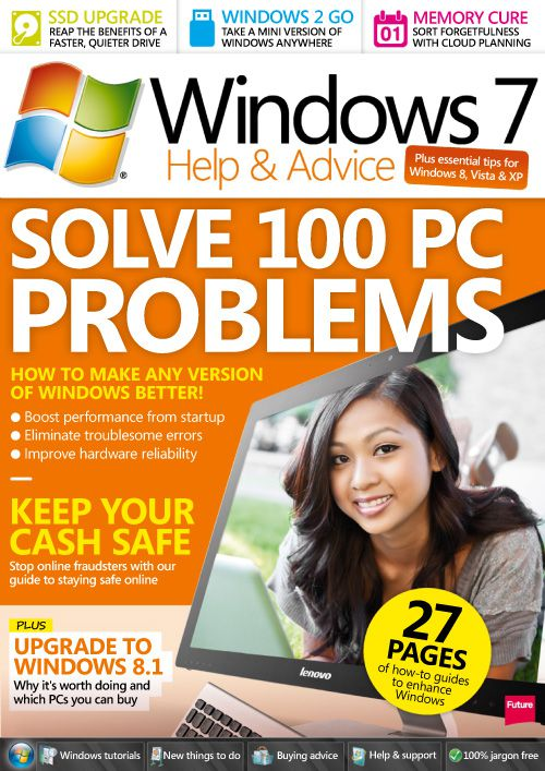 Windows 7 Help & Advice - February 2014 (True PDF)