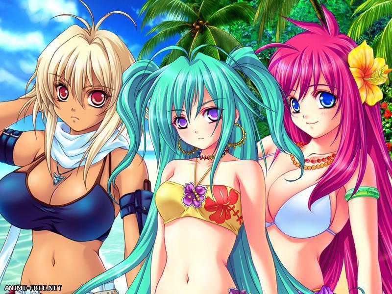 Tropical island / Nangoku Sakunyu Island / Тропический остров [2007] [Cen] [VN,Animation] [JAP] H-Game