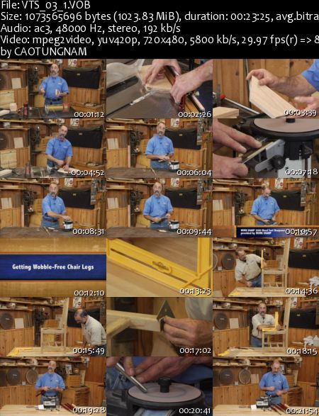 Woodworkers Guild of America - Helpful shop tips & tricks DVD (2013)