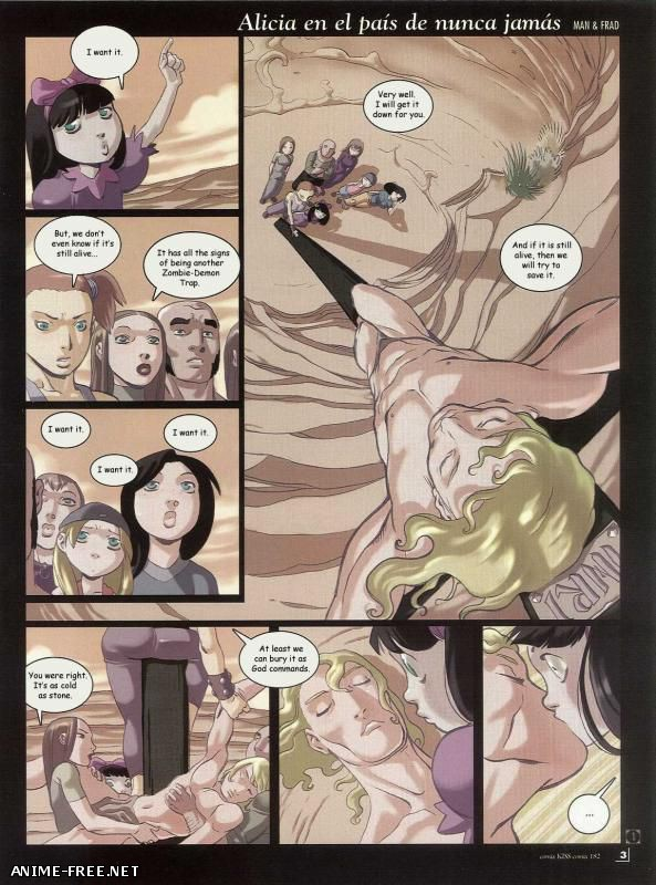 Alicia in Neverland / Alicia in Neverland [Uncen] [ENG] Porn Comics