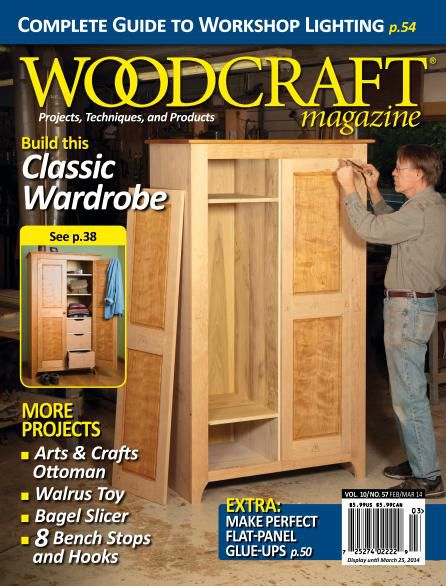 Woodcraft Magazine - February March 2014 (True PDF)