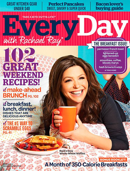 Every Day with Rachael Ray - March 2014