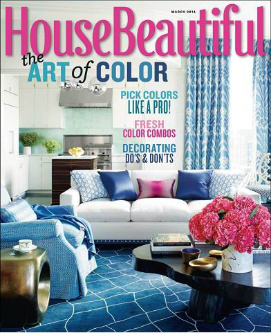 House Beautiful Magazine March 2014