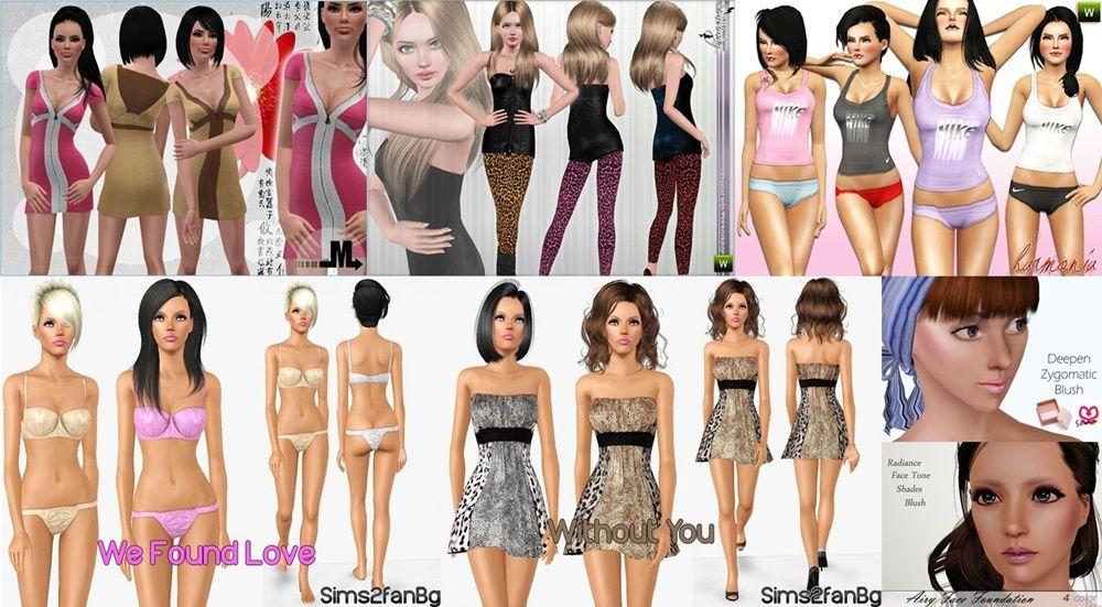 Полный Пакет Объектов И Одежды Store