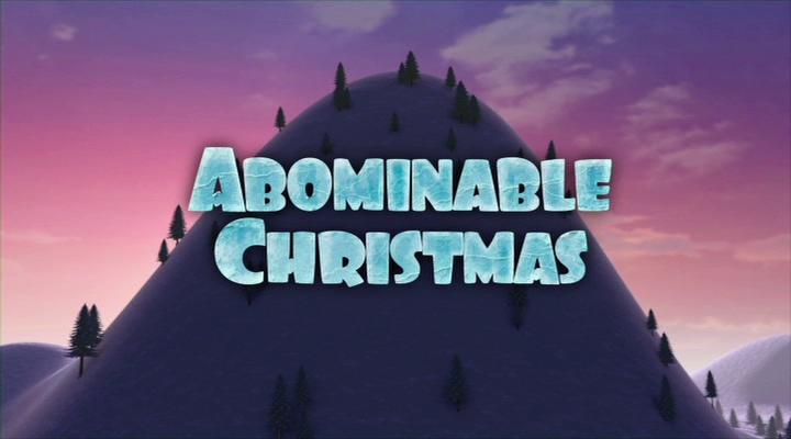 Рождественское приключение / Abominable Christmas (2012) DVDRip