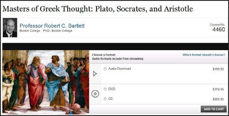 TTC Video - Masters of Greek Thought: Plato, Socrates, and Aristotle (DVDRip)