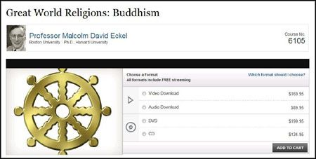 TTC Video - Great World Religions: Buddhism With Malcolm David Eckel