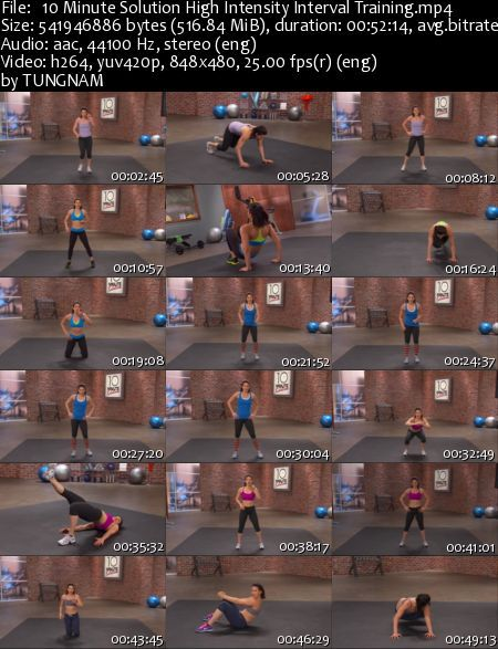 10 Minute Solution  High Intensity Interval Training (2013)