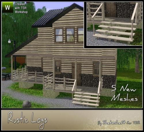 Sims 2 Лестницы