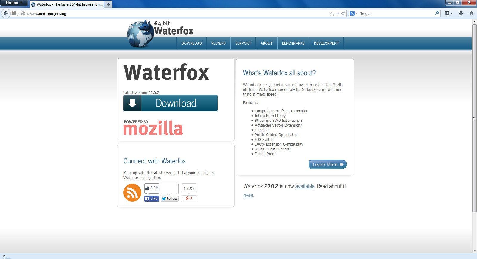 Waterfox 28.0 x64 Final RePack (& Portable) by D!akov [Ru/En]
