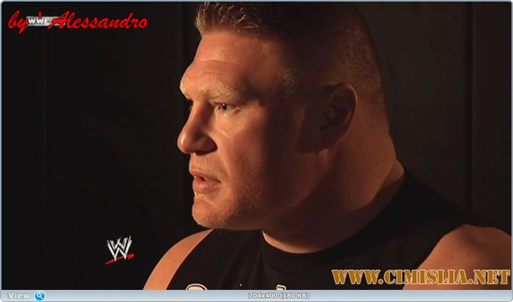 WWE Brock Lesnar - Here Comes the Pain! [2014 / HDTVRip]