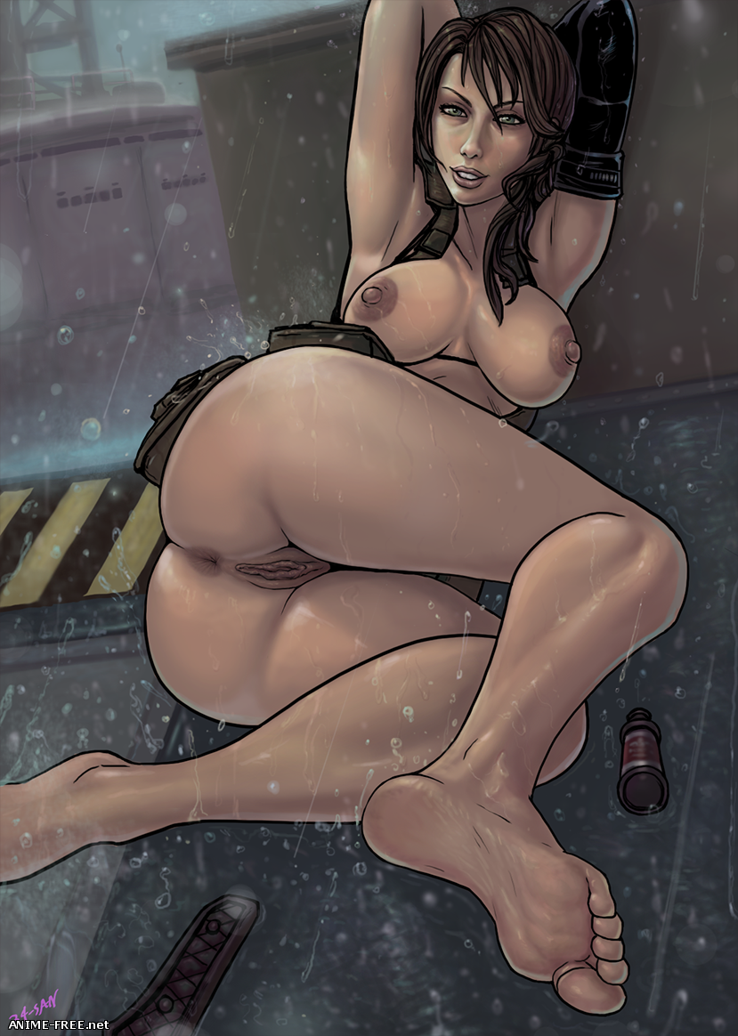 [Collection] - Quiet (MGS) [Uncen] [JPG,PNG,GIF] Hentai ART