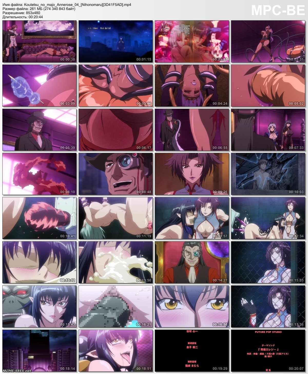 Koutetsu no Majo Annerose / Steel Witch Anneroze / Стальная Ведьма Аннероуз [4 из 4] [RUS,JAP,ENG] Anime Hentai