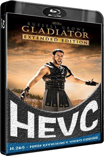 Гладиатор / Gladiator [10th Anniversary Remastered Edition] [Extended Cut] (2000) BDRip [H.265 / 1080p]